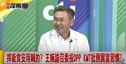 捍衛食安用喊的? 王婉諭召委投DPP KMT批側翼當習慣?