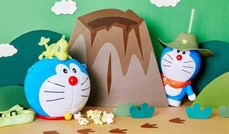 哆啦A夢迷們出動啦! 威秀影城新出造型爆米花桶 這不收對不起自己