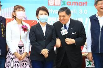 量販店開幕捐贈愛心文具 盧秀燕:台中歡迎企業投資