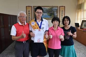 頭份興華高中學生楊敦傑 勇奪全國技能競賽金牌