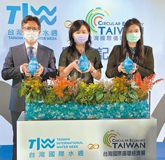 國際水週、循環經濟展 24日登場