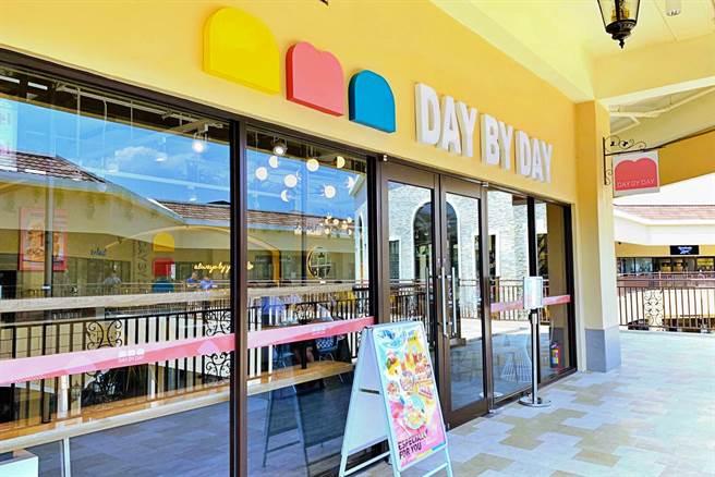 美食-KY去年底推出新品牌「DAY BY DAY」,歷時半年籌備的第2店進駐台中麗寶OUTLET二期,於23日正式開幕。(美食提供)