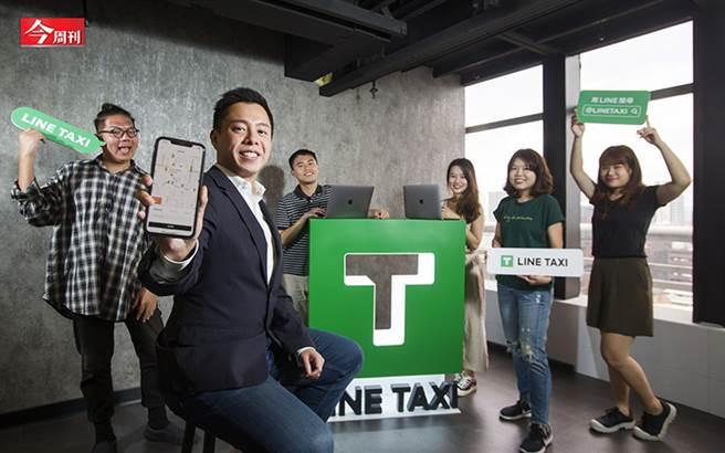 LINE TAXI力搏Uber!它如何靠廣大LINE用戶搶進計程車市場、用戶數破百萬?(圖/金周刊提供、吳東岳攝)