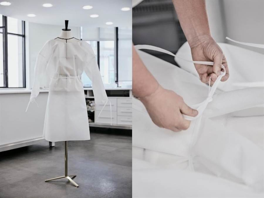 LV防護衣獲得好評。(圖片來源:Louis Vuitton)