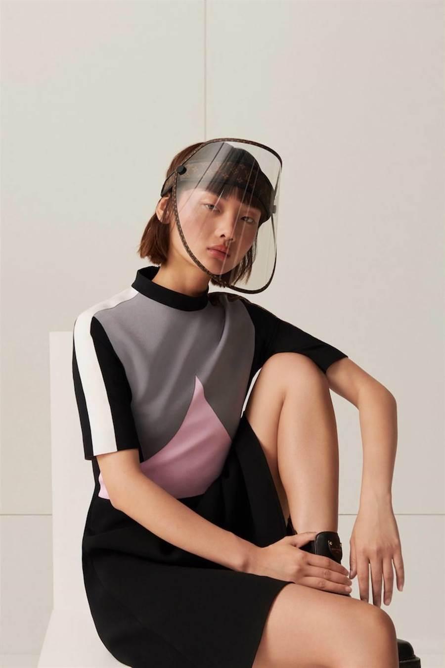 防疫還可以兼具時尚感(圖片來源:Louis Vuitton)