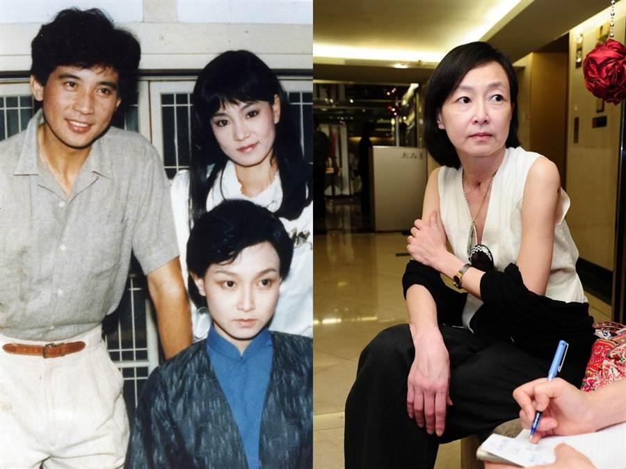 曾亞君有些像劉雪華。圖右為她大病初癒的模樣。(圖/中時資料照)