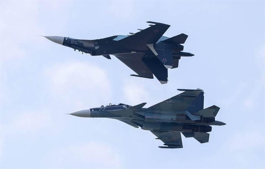 俄羅斯 Su-30戰機。(圖/Tass)
