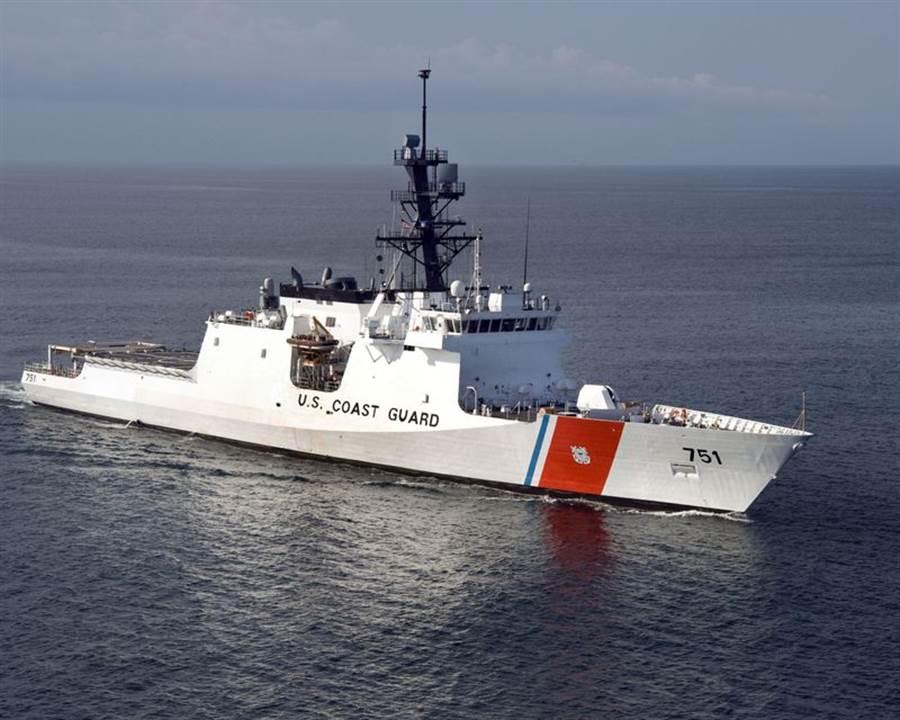 美國海岸防衛隊的魏許號巡防艦(圖/USCGC)