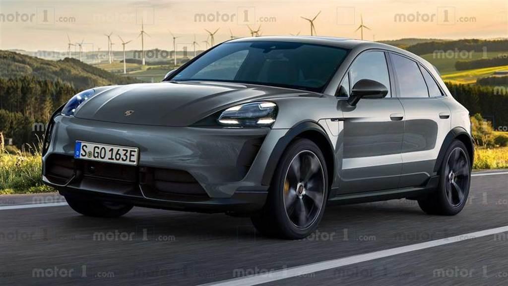 保時捷 Macan 電動車長這樣?!明年發表、2022 年量產上市進軍 SUV 市場