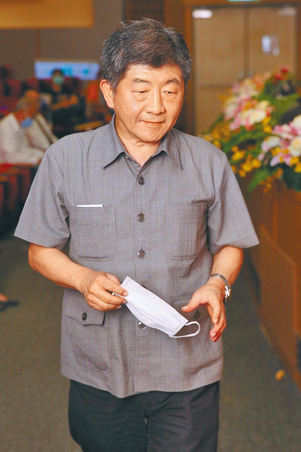 衛生福利部長陳時中。(本報資料照片)