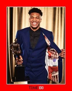 NBA》公鹿阿提托康波 入選時代雜誌百大人物