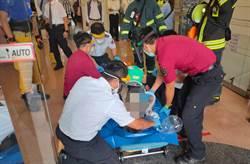 台電員工慘遭高壓電擊命危 北市大樓斷電搶救中