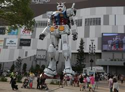影》近20米高重24噸 日鋼彈機器人橫濱活跳跳