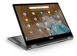 宏碁可翻轉Chromebook Spin 713及Spin 311在台開賣