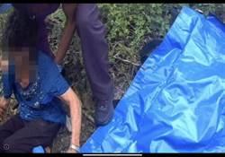 台東年邁老婦尋農田滑落山谷 熱心警消即時救援