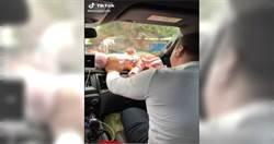 嬰兒丟擋風玻璃 大人嘻笑錄影網氣炸:根本腦殘