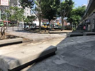汐止站前小廣場荒廢閒置 融合礦坑公園年底完工