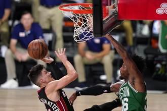 NBA》菜鳥赫羅37分建功 熱火摧毀綠衫軍聽牌了
