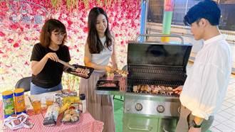 大立百貨推中秋懶人烤肉法 結合網美最愛打卡點
