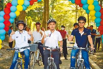 綠色騎跡 集集環鎮自行車啟用