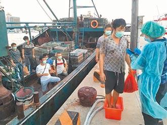 陸漁船撈過界 海巡查扣押回