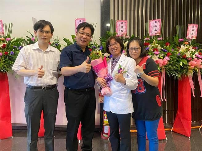 衛生福利部表揚優良醫事人員,基隆醫院3人獲獎。(基隆醫院提供/吳康瑋基隆傳真)