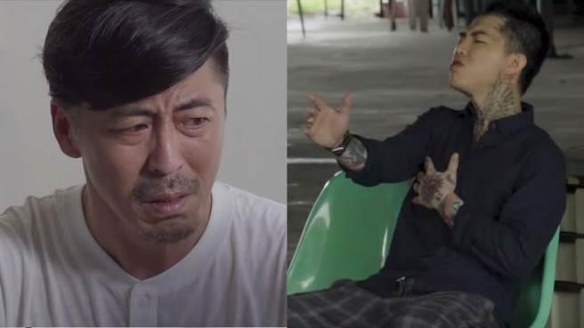 維勳擔替謝和弦拍攝〈夠愛2.0〉MV擔任男主角(圖片翻攝至謝和弦YouTube頻道)