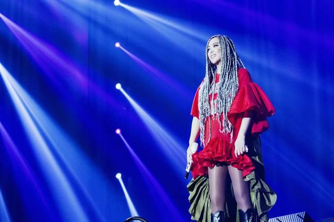張惠妹跨年在台東開唱。(EMI提供)