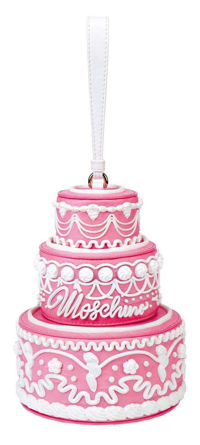 Moschino立體蛋糕提包,4萬6800元。(Bluebell提供)