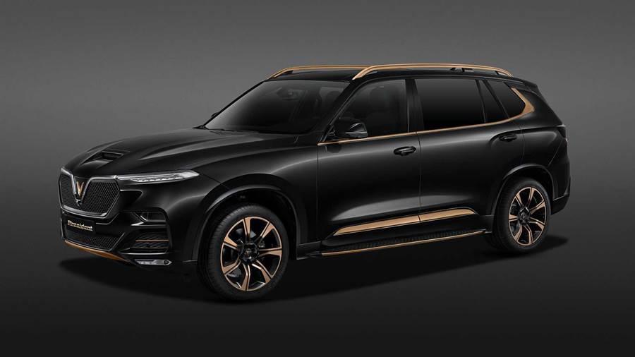 越南自主品牌 VinFast 推出旗艦車款 President,具備 LS1 V8 大排氣量動力!