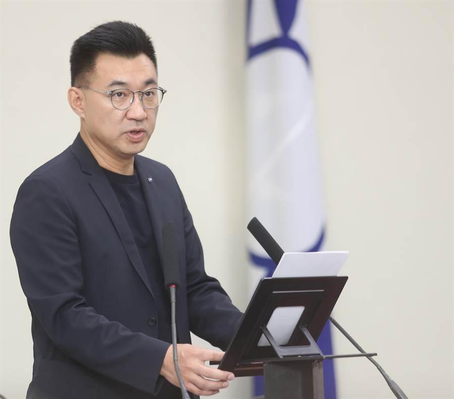國民黨主席江啟臣(本報資料照/陳怡誠攝)