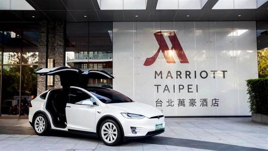台北萬豪酒店 10 月限定超狂方案,入住同享特斯拉 Model X「無限里程自駕」 體驗