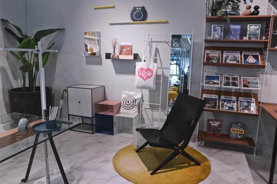 圖二:台中在地品牌Nak Nak是世界各大傢俱展的常客。(林欣儀攝)