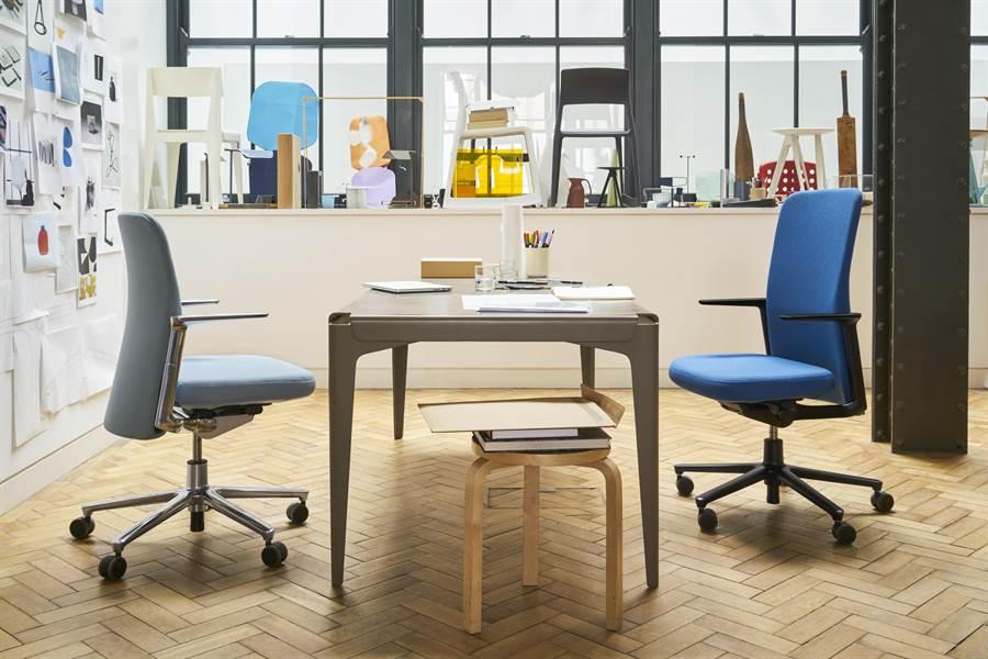 圖三:Vitra_Pacific Chair 太平洋辦公椅,蘋果公司最愛的辦公椅。(明日選品提供)