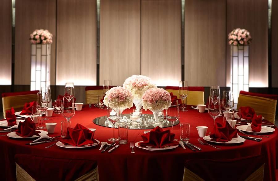 台北晶華酒店地下3樓的晶英會,提供賓客融合中式傳統簡約設計與私密宴席空間。(台北晶華酒店提供)