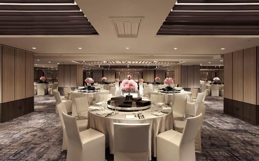 近期裝修完畢的4樓貴賓廳,擁9個可靈活運用的優雅空間。(台北晶華酒店提供)
