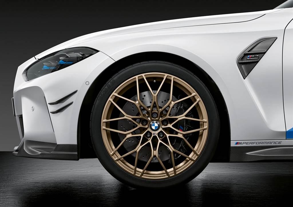BMW G80 M3 / G82 M4專用M Performance升級套件 將於車款上市同步販售