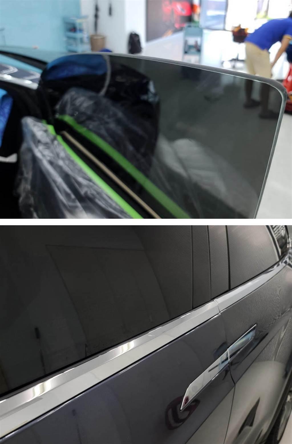 FSK高性價比隔熱紙安裝分享:Tesla Model X