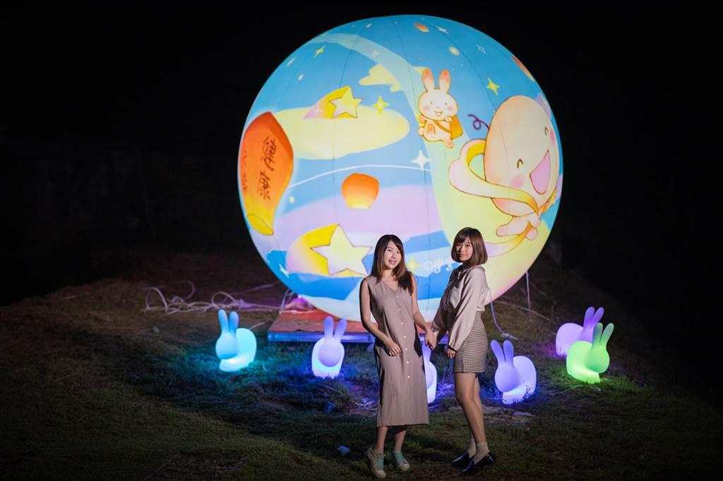 新北市府在中秋佳節以「願圓、月圓、人團圓」的概念推出三大活動。(新北市觀旅局提供/葉德正新北傳真)