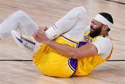 NBA》一眉哥:那一下扭很嚴重 但我沒事