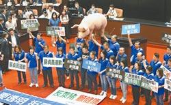 國民黨促聯審萊豬 民進黨嗆怕你不審