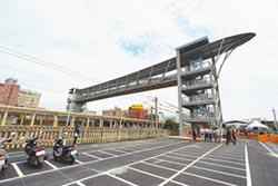 大甲火車站人行跨越橋啟用
