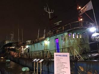 越夜越美麗!漁船搭載最炫藝術駛進基隆 林右昌以海上博物館讓遺址發光