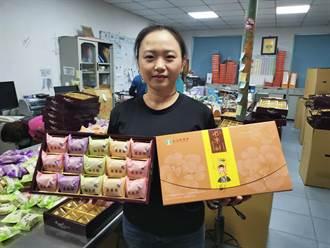 不受疫情影響 山上農會鳳梨酥中秋禮盒熱賣