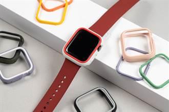 怕撞傷 快為Apple Watch Series 6搭上犀牛盾撞色保護殼
