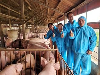 朱立倫訪豬農 養豬農:萊豬進口消息嚇到消費者了