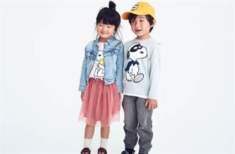 瑞典平价时装联名超人气漫画史努比 打造童装秋冬时尚