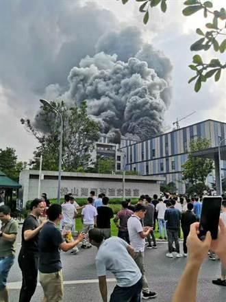 華為25日全聯接大會 驚傳東莞實驗室起火
