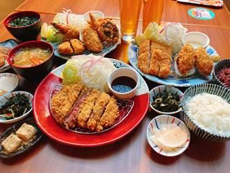 人氣豬排店推秋冬限定「軟殼蝦」套餐 當紅炸牛排再度回歸