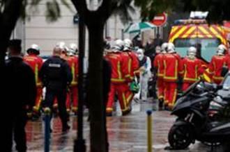 巴黎查理週刊辦公室外驚傳持刀砍人 2傷
